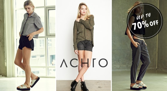 Achro up to 70% Off