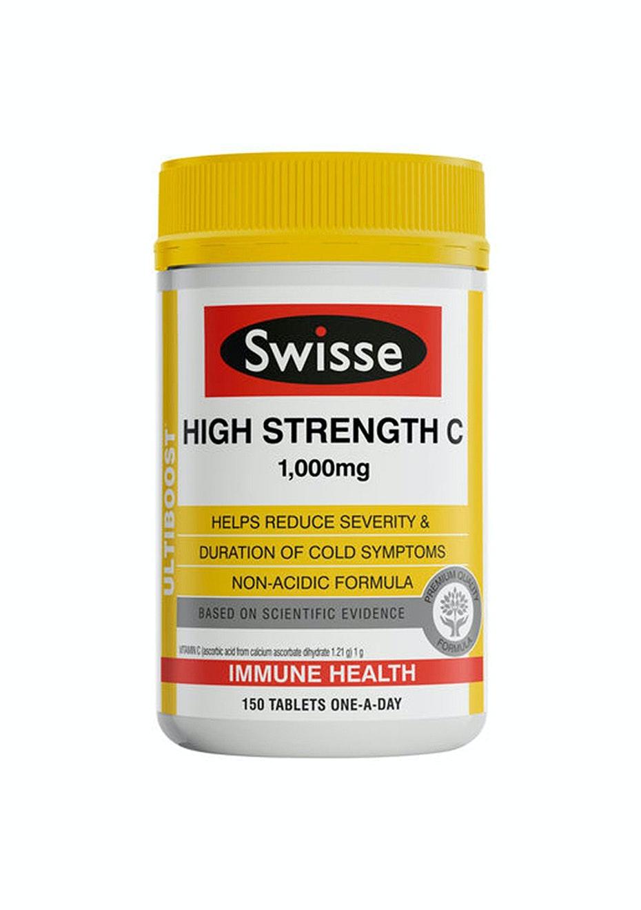 Swisse Ultiboost High Strength C 150 Tabs