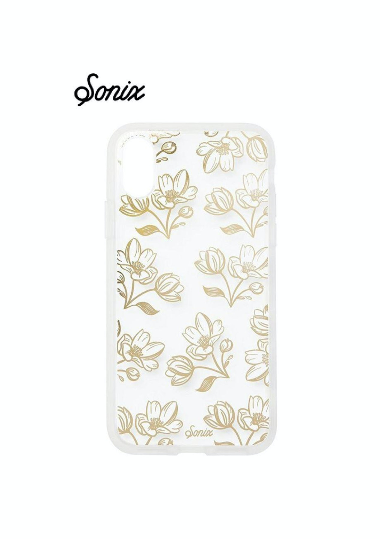 b4f6bfc3cdc SONIX Apple iPhone X Clear Coat Case for - Gold Daffodil