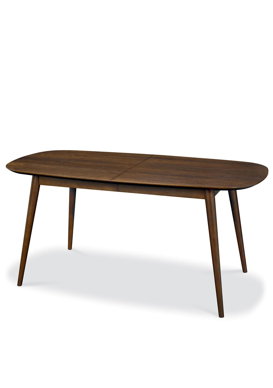 Furniture By Design - Oslo Extension Dining Table- Walnut Veneers and Solid Walnut