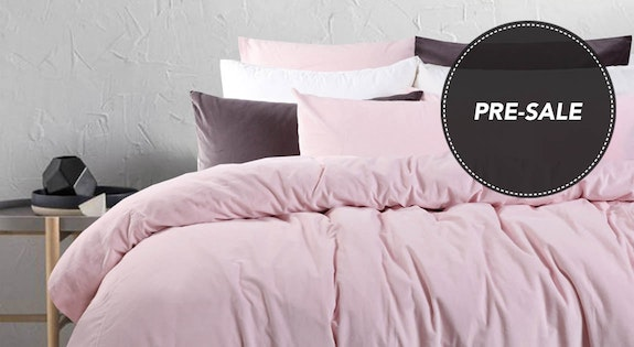 Image of the 'Blush & Grey Bedroom' sale