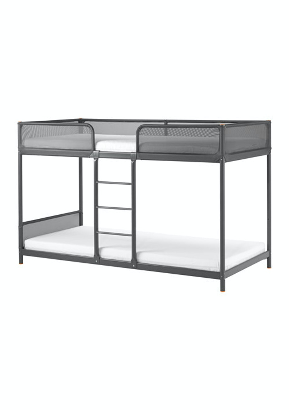 Ikea Tuffing Bunk Bed Frame 96 5x207cm Dark Grey Affordable Ikea Home Makeover Onceit