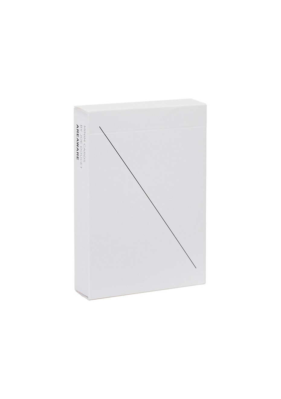 Areaware - Minim Playing Cards - White