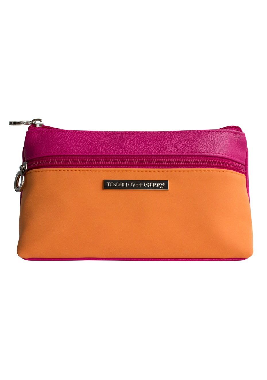 TL+C - Dynamic Duet Double Zip - Pink/Orange