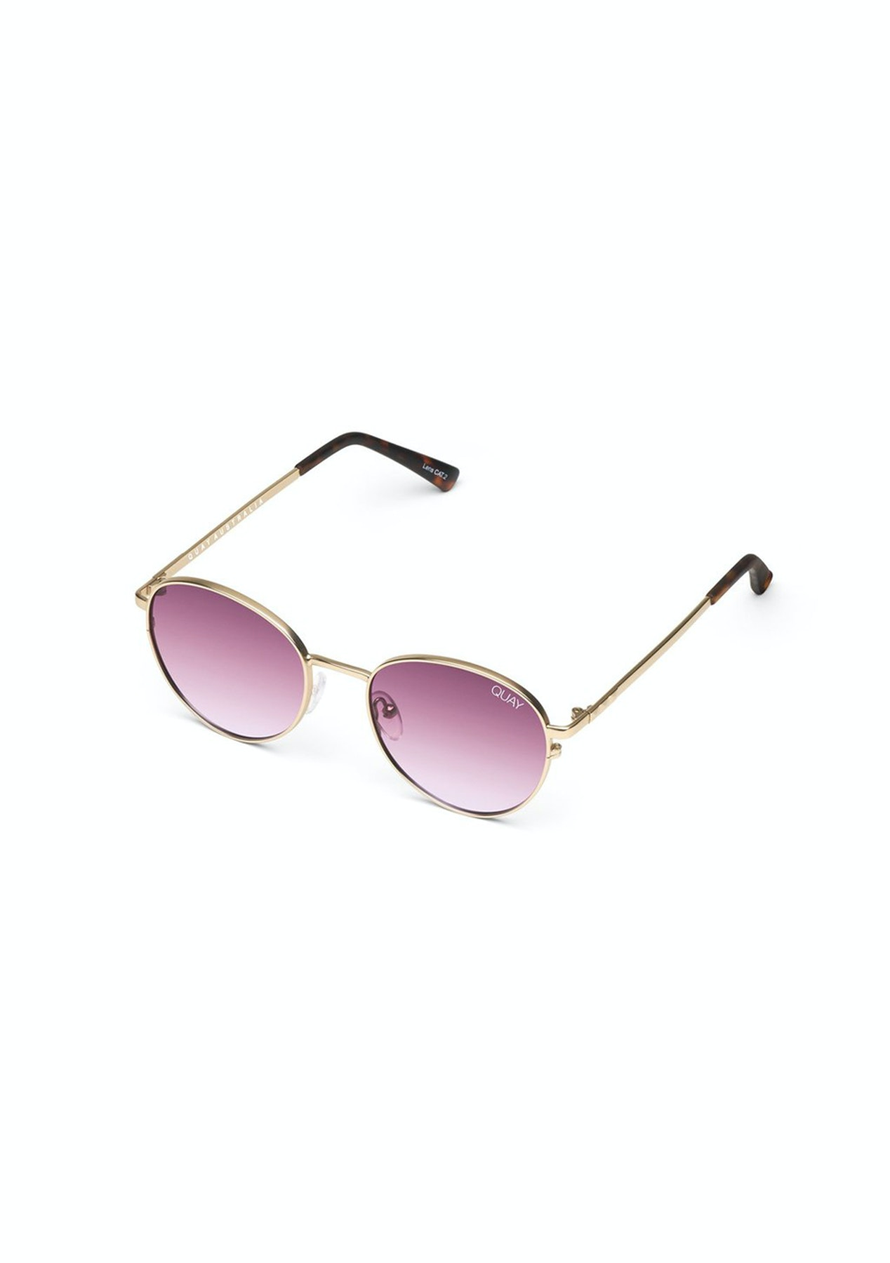 7dc6b14f70 Quay Australia - Crazy Love - Gold Purple Lens - NEW Quay Australia + More  - Onceit