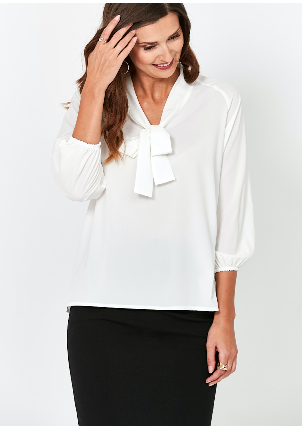 dad52befb96ea9 Zocha - Blouse - Ecru - Day to Night Looks Up to 70% Off - Onceit