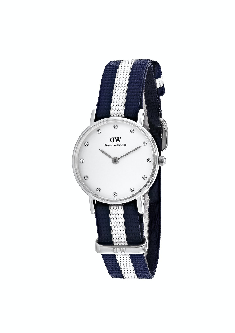 Daniel Wellington Women's Glasgow - White/Blue & White