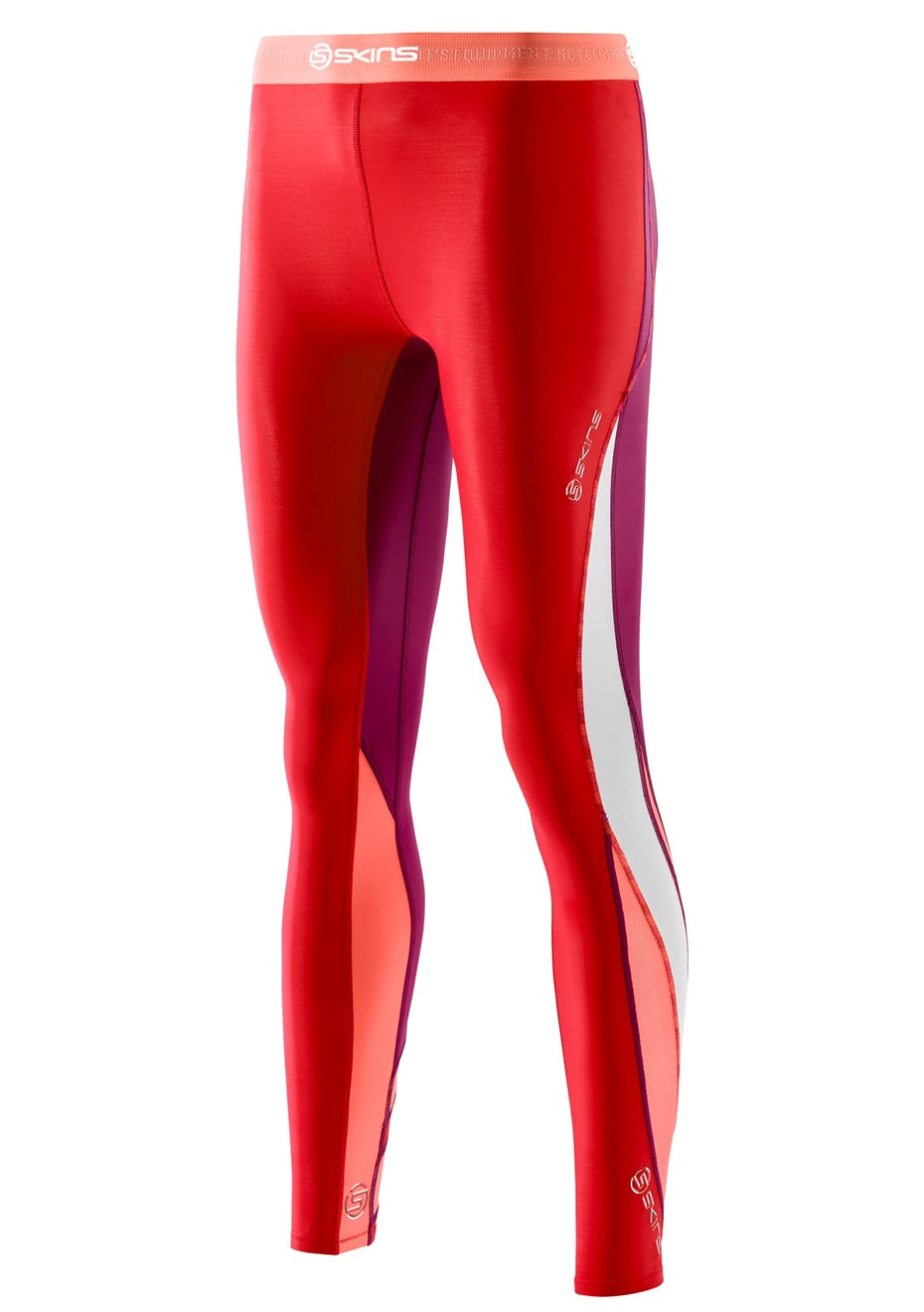 Skins - DNAmic Womens Long Tights Rossa