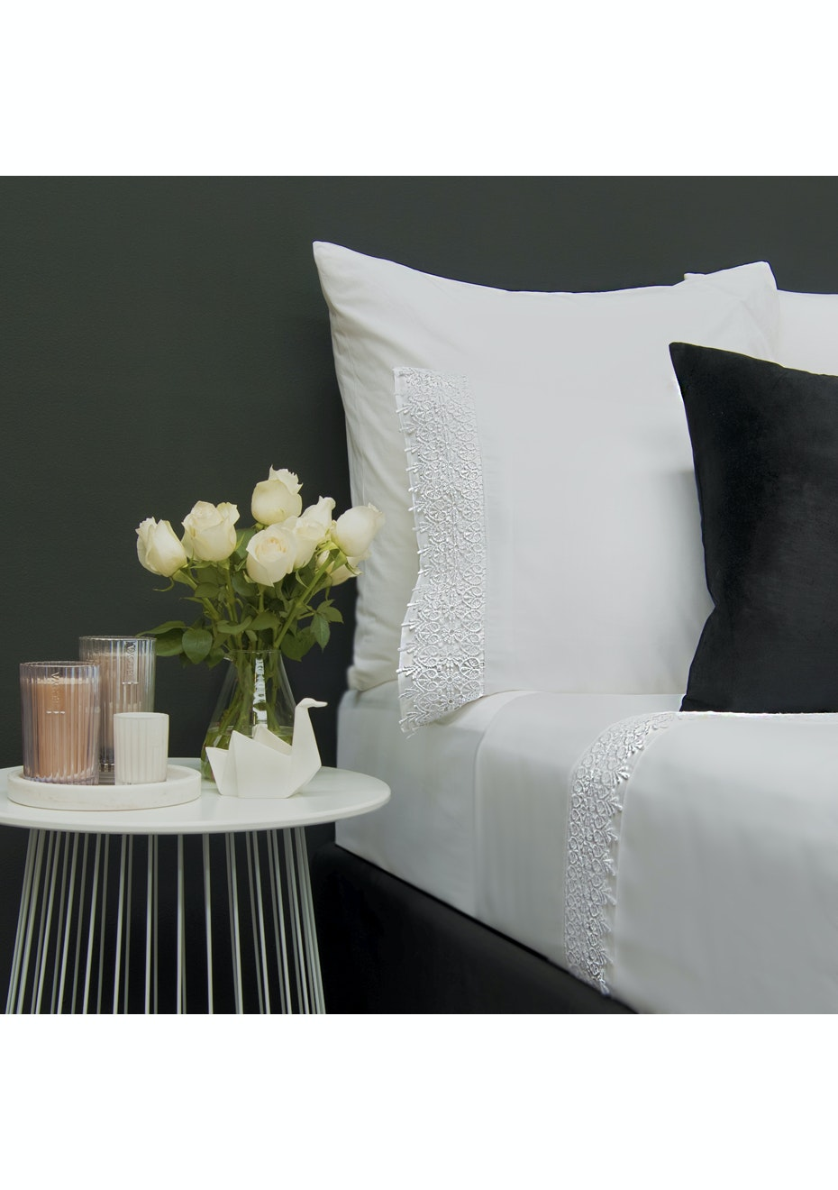 Style & Co 1000 Thread count Egyptian Cotton Hotel Collection Valencia Sheet sets Queen White