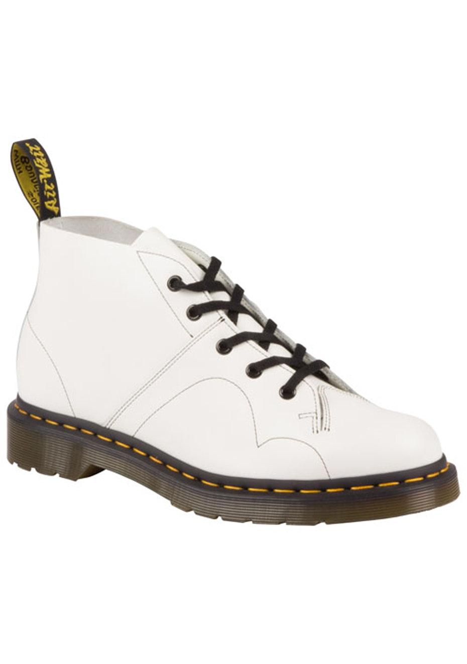 DR MARTENS - Church Monkey Boot - White