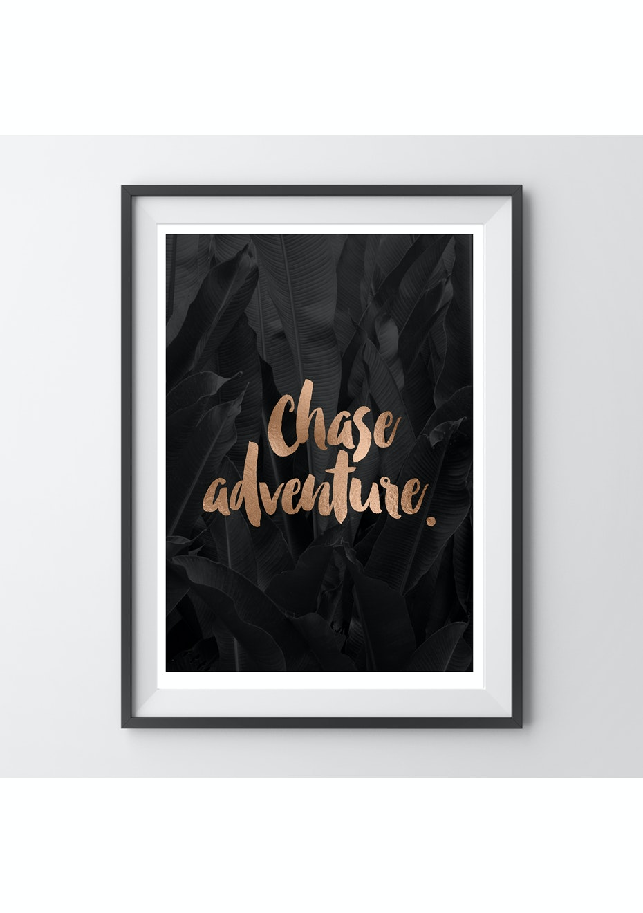 Simply Creative - Chase Adventure - A4 Copper Foil Print