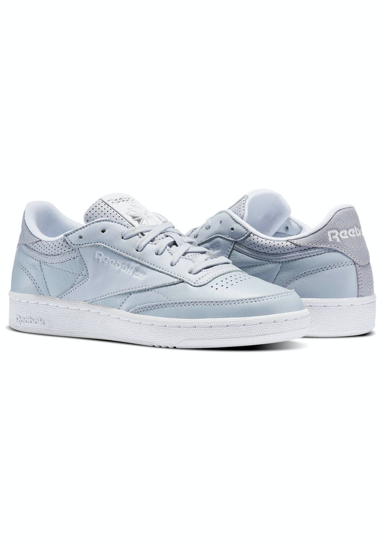 2bb2cac5f54 Reebok Womens - Club C 85 Fbt Cloud Grey White Silver - The Ultimate Workout  Sale - Onceit