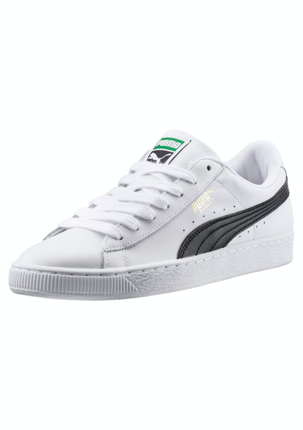 89e788dfe19 Puma Mens - Basket Classic Lfs - White Black - Free Shipping Activewear  Reductions - Onceit