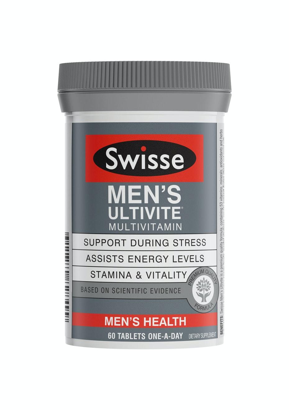 Swisse Mens Ultivite Tablets 60 F1