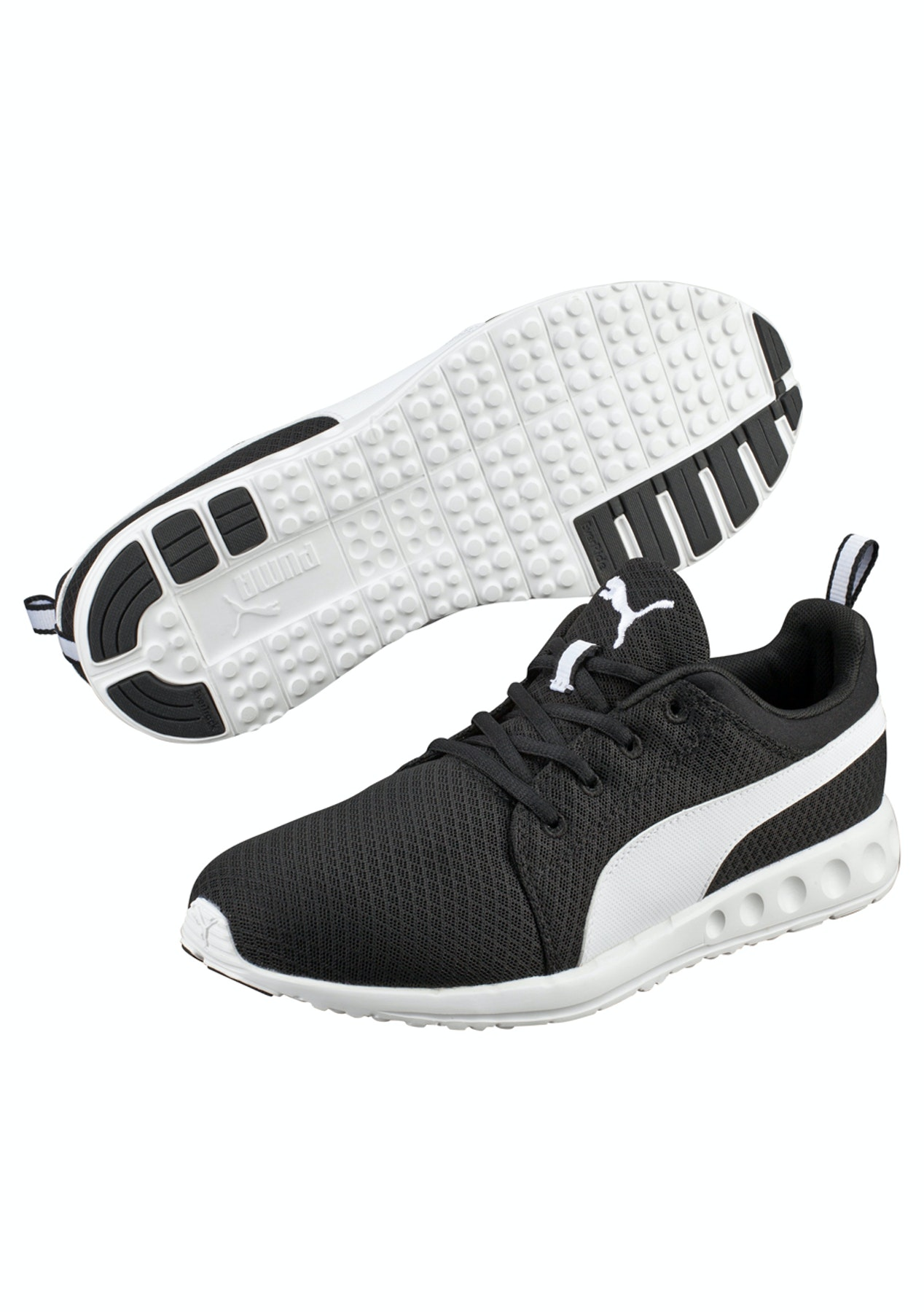 767e58c974dc Puma Mens - Carson Mesh - Black - White - Mens Outlet Sale from  5 - Onceit