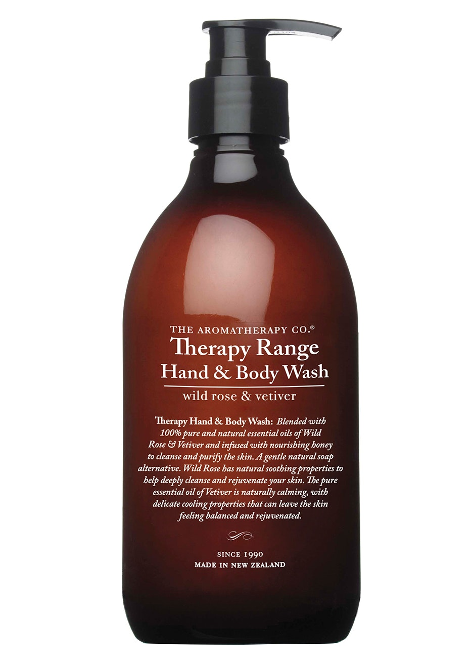 The Aromatherapy Co. Therapy Hand & Body Wash - Wild Rose & Vetiver - 500ml
