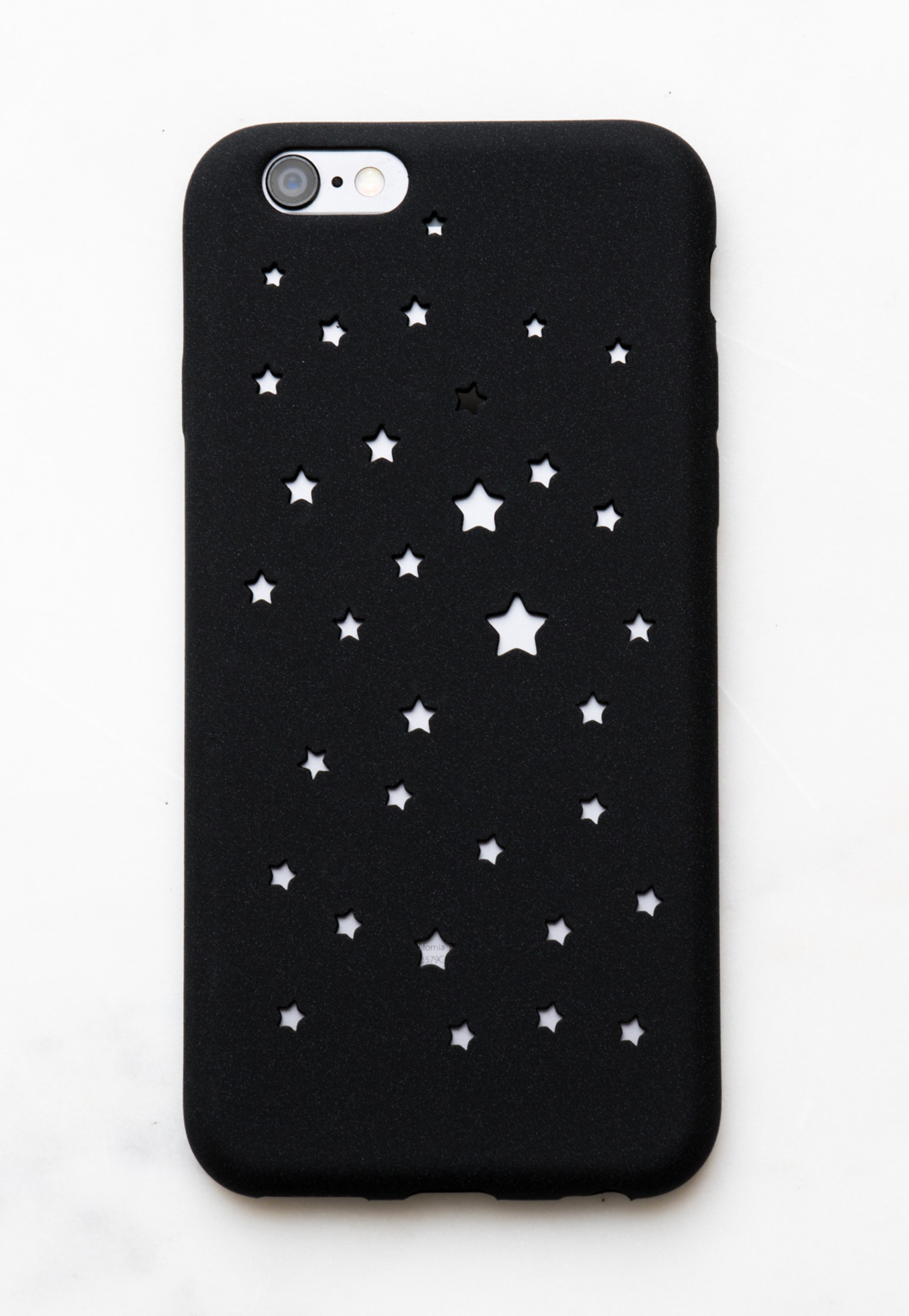 cut out star iphone case black all 5 onceit