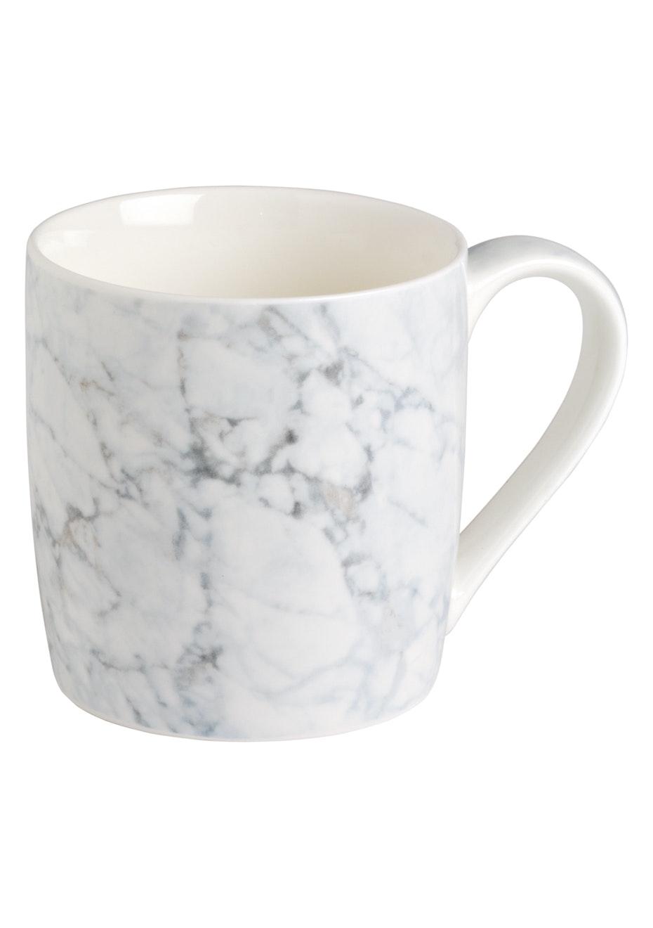Marble Mug - White Marble