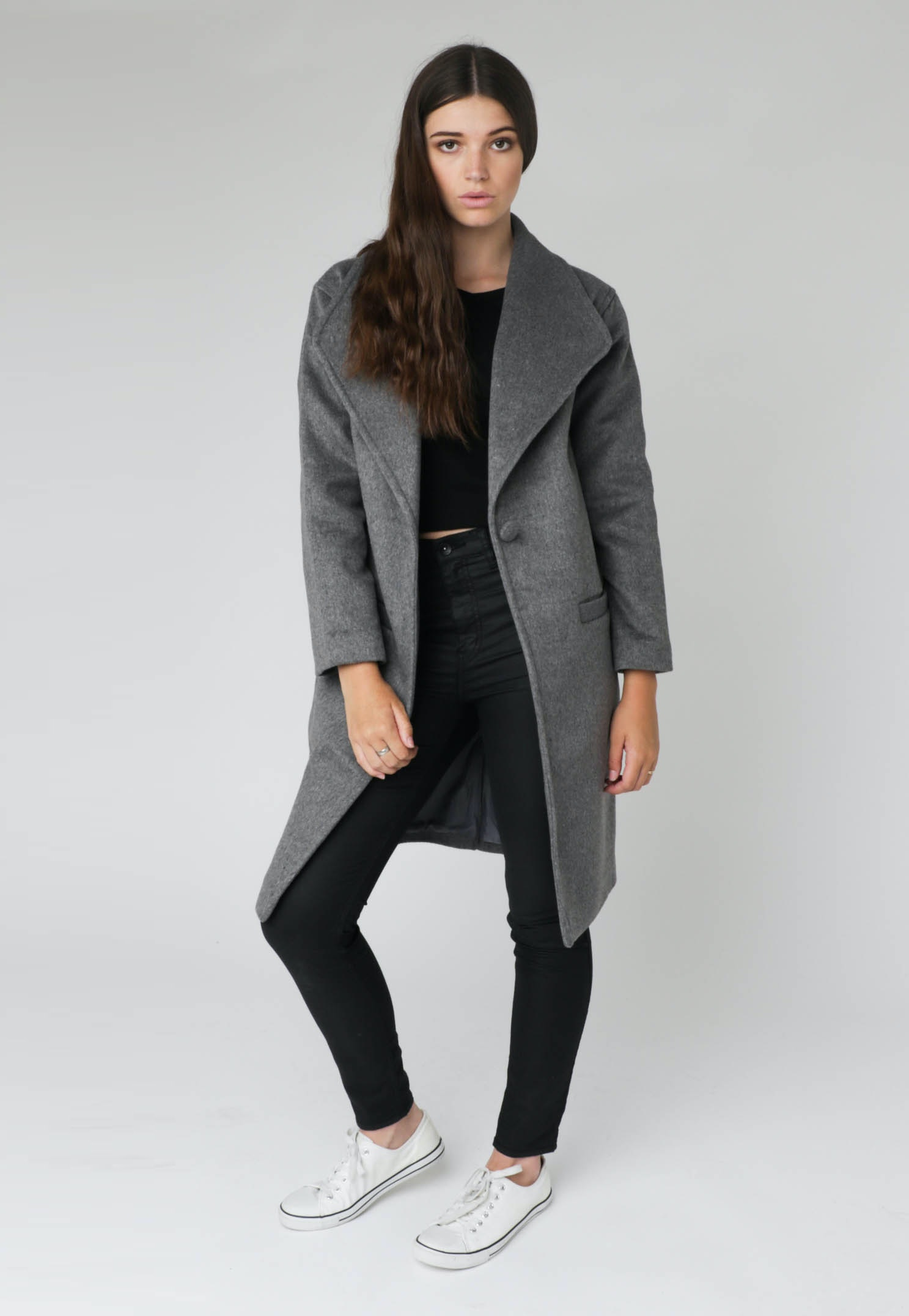 All About Eve - Late Night Jacket - Grey Marle