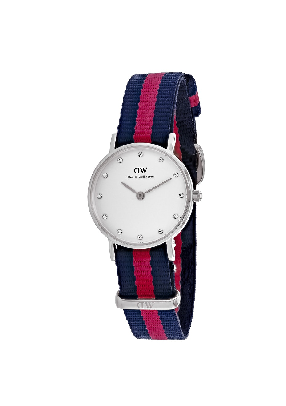 Daniel Wellington Women's Glasgow - White/Blue & Red