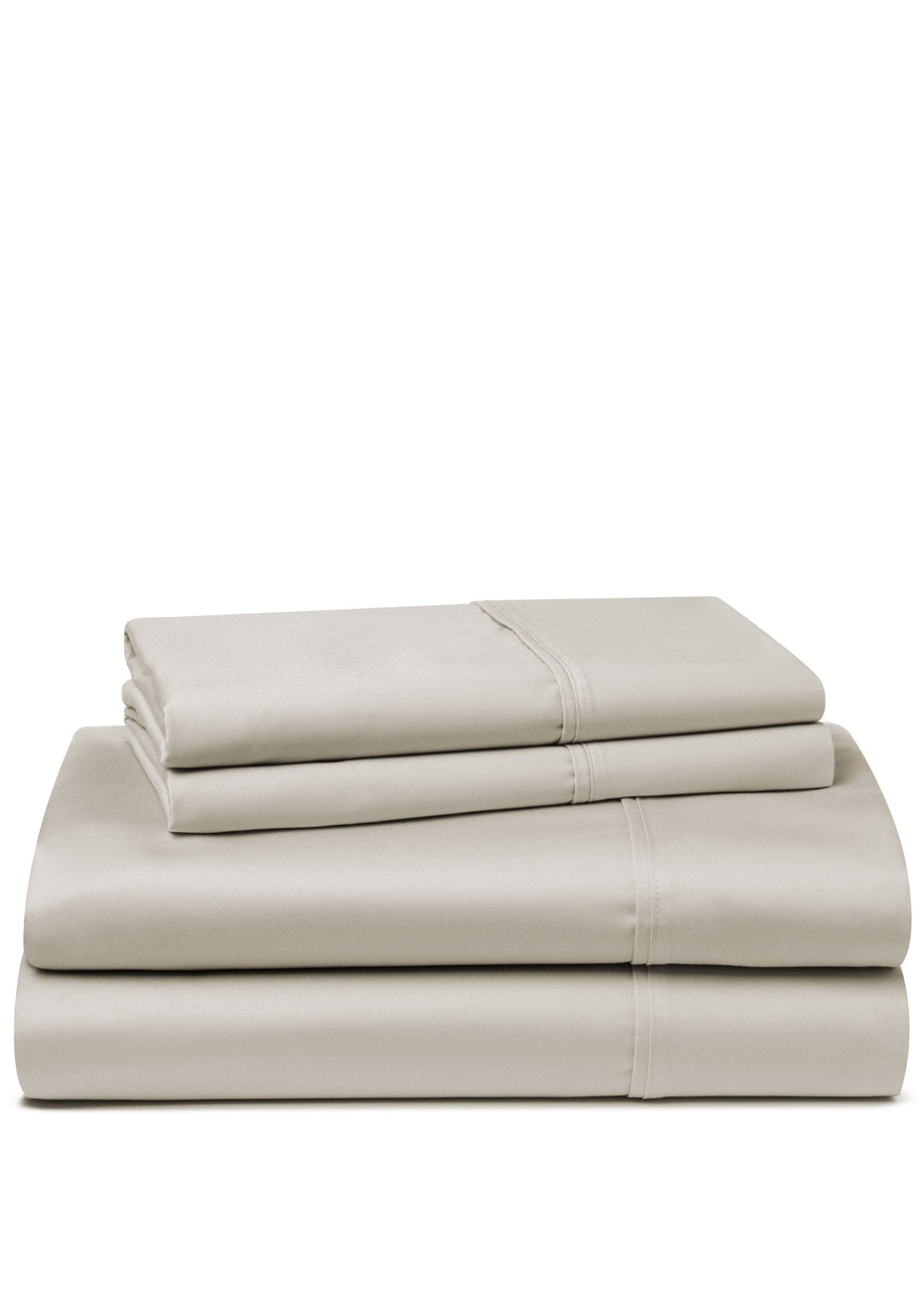 Palazzo Royale 1500TC Premium Blend Sheet Set Queen Bed Suede Blonde