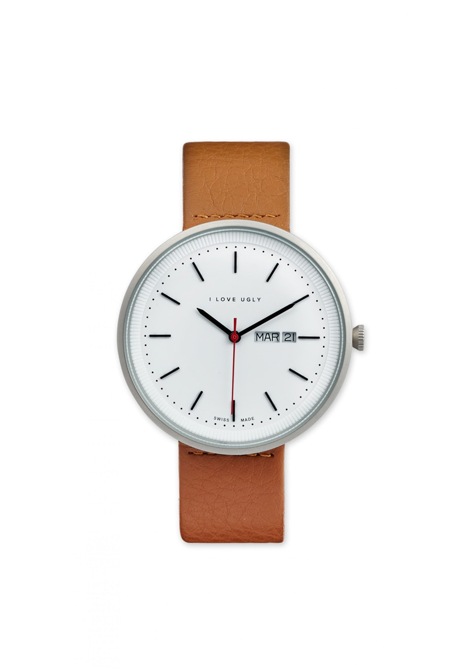 I Love Ugly - Archibald Watch Silver