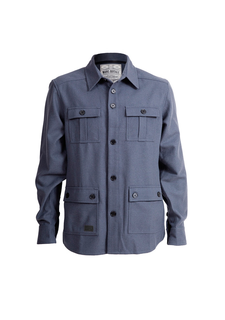 Mons Royale - Mountain Shirt - Charcoal