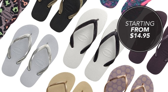 Image of the 'Havaianas' sale