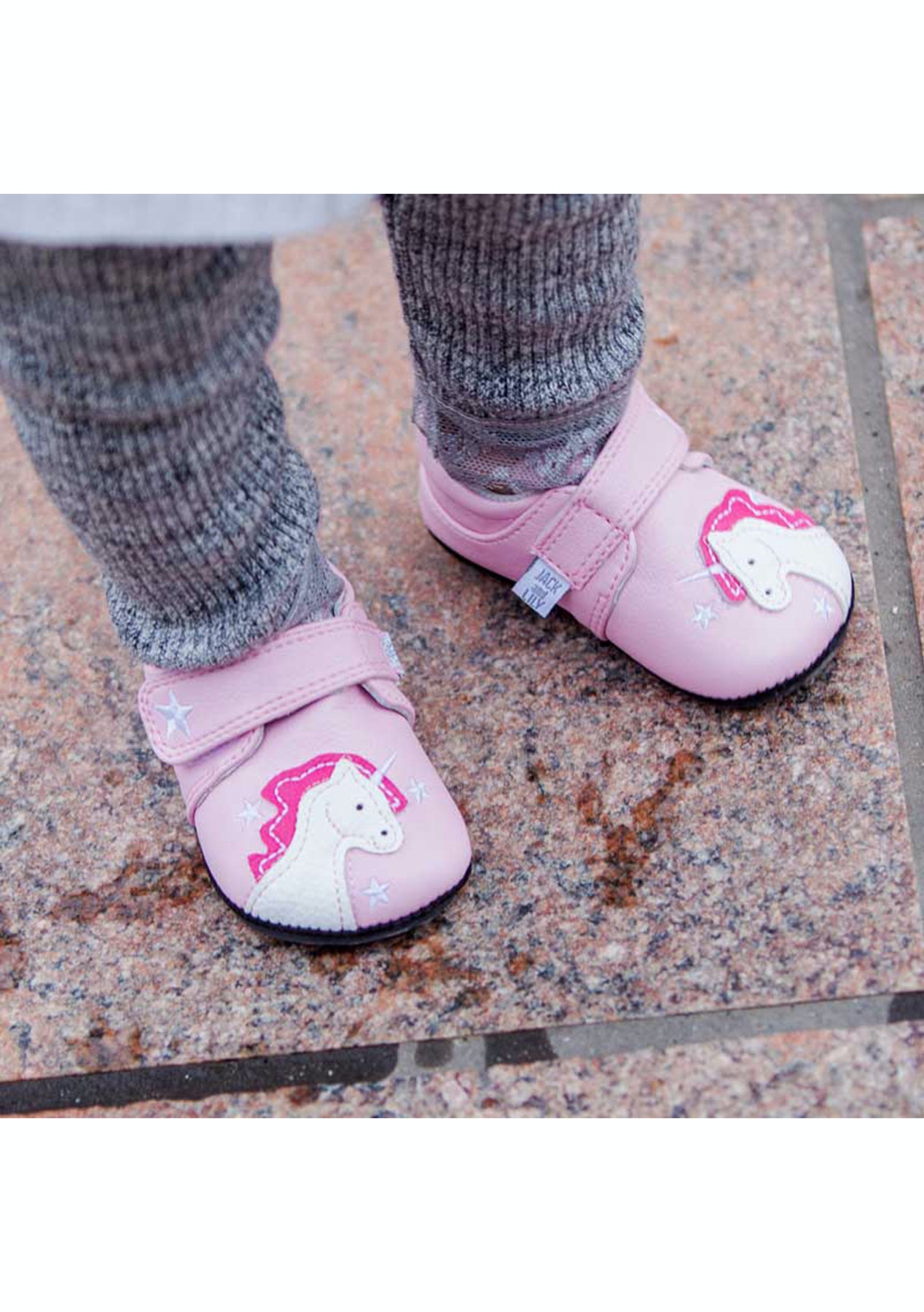 48ea148dd8bb Jack   Lily - Dixie Unicorn Pink - Genuine Leather - Jack   Lilly Kids Shoes    more - Onceit