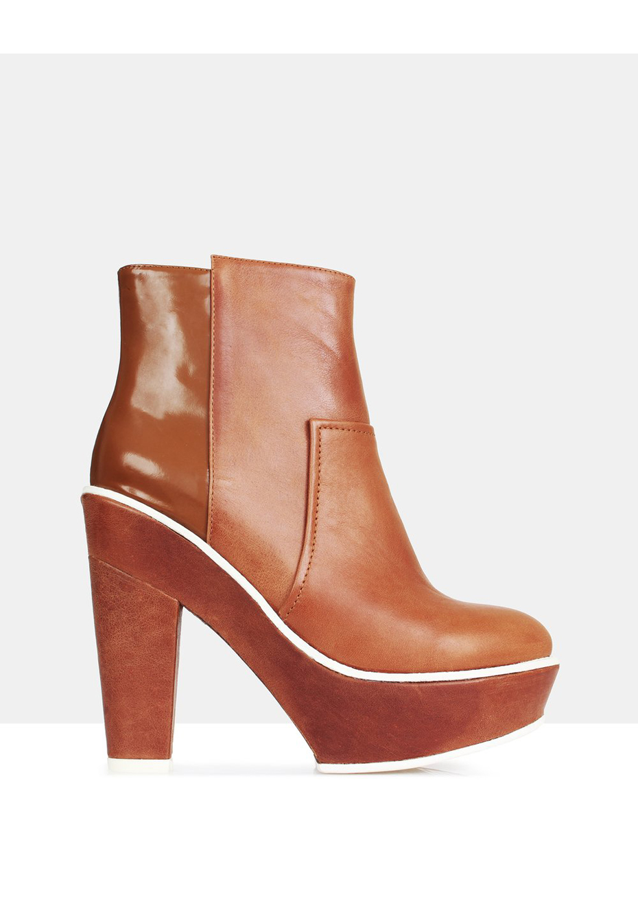 Beau Coops Scand Tan Ankle Boots Women GH92263