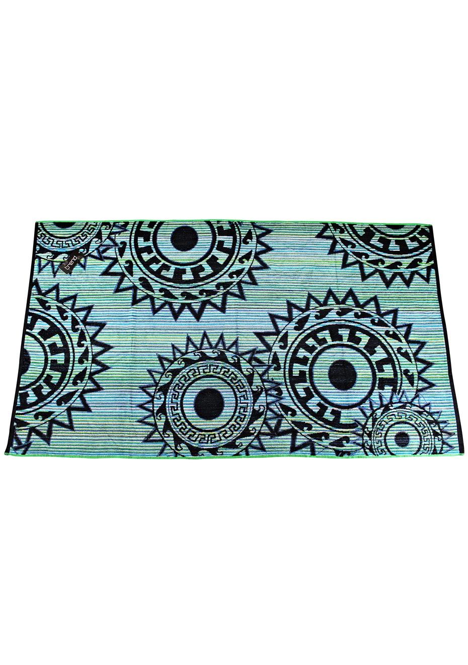 Ayana 100% Cotton Velour Jacquard Beach Towel - 100x180cm
