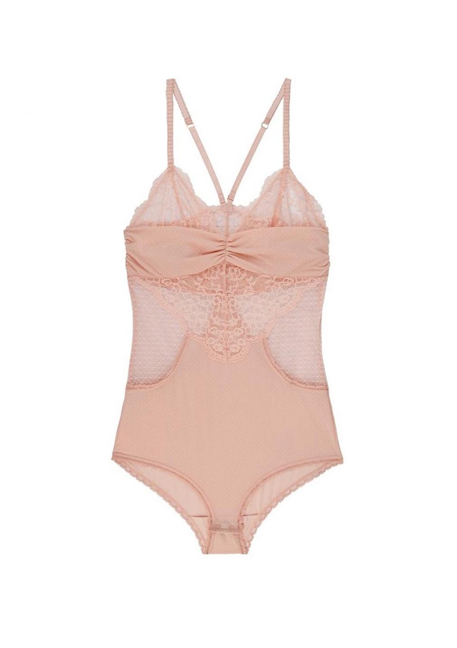Stella McCartney - Meg Alluring Bodysuit  - Ballet Pink