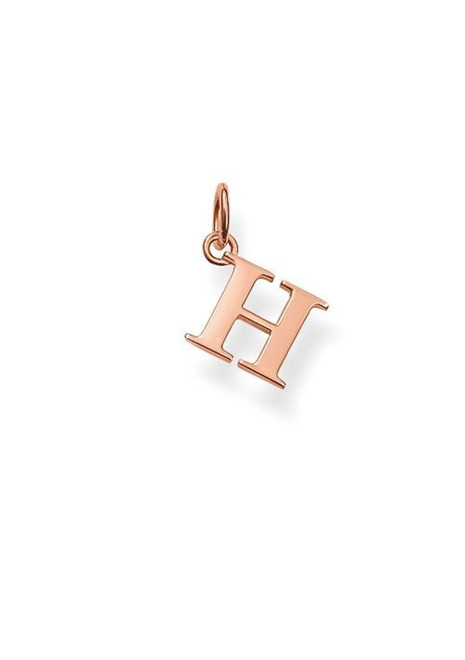 Thomas Sabo  - H' Pendant - Rose Gold Plated