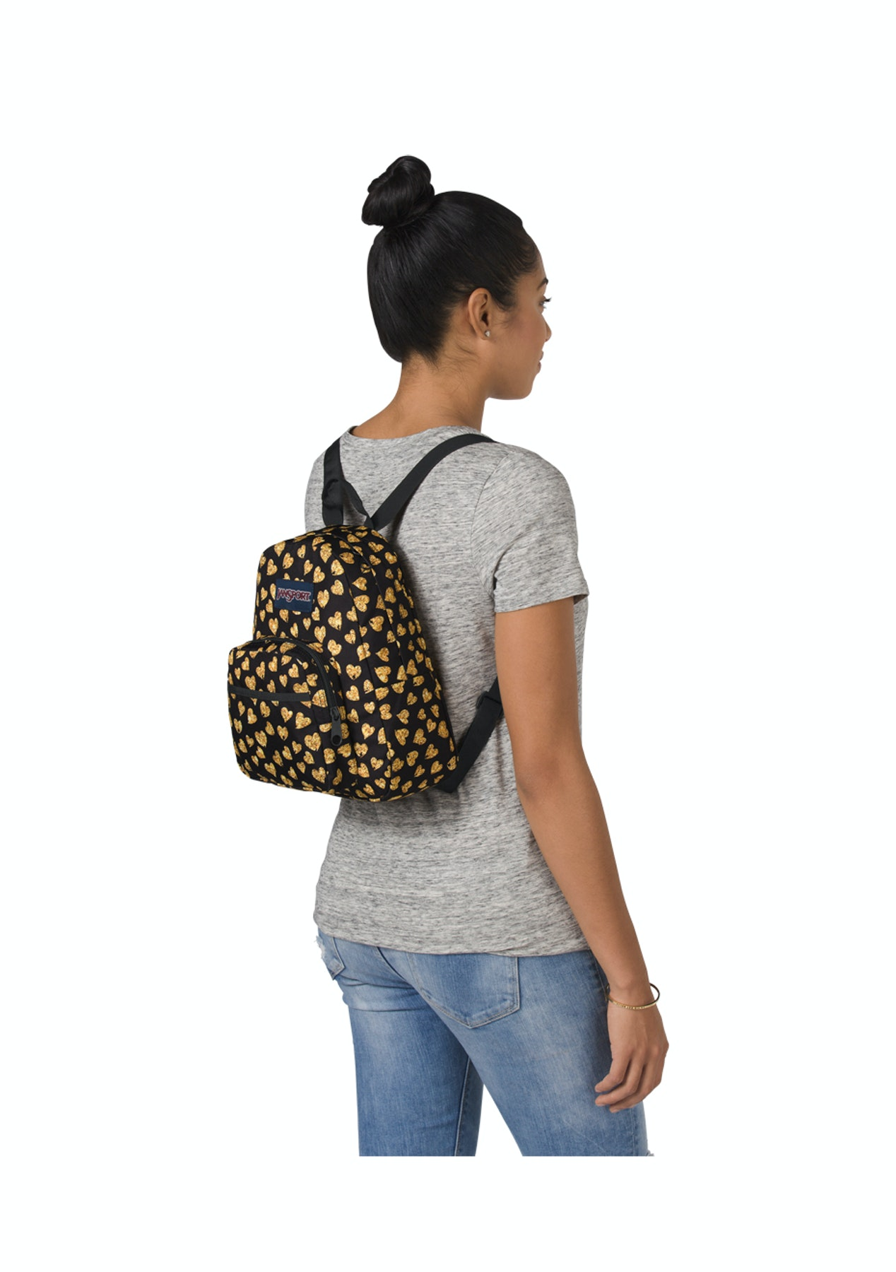 173e83dd5949 Jansport - Half Pint Glitter Hearts - 10.2L - Mi Pac   More Backpacks -  Onceit