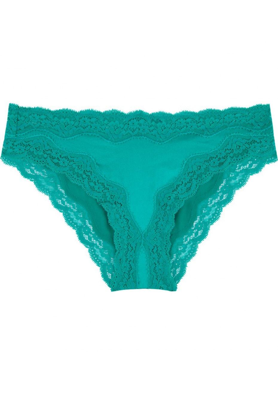 Stella McCartney - Clara Whispering Bikini Brief - Dynasty Green
