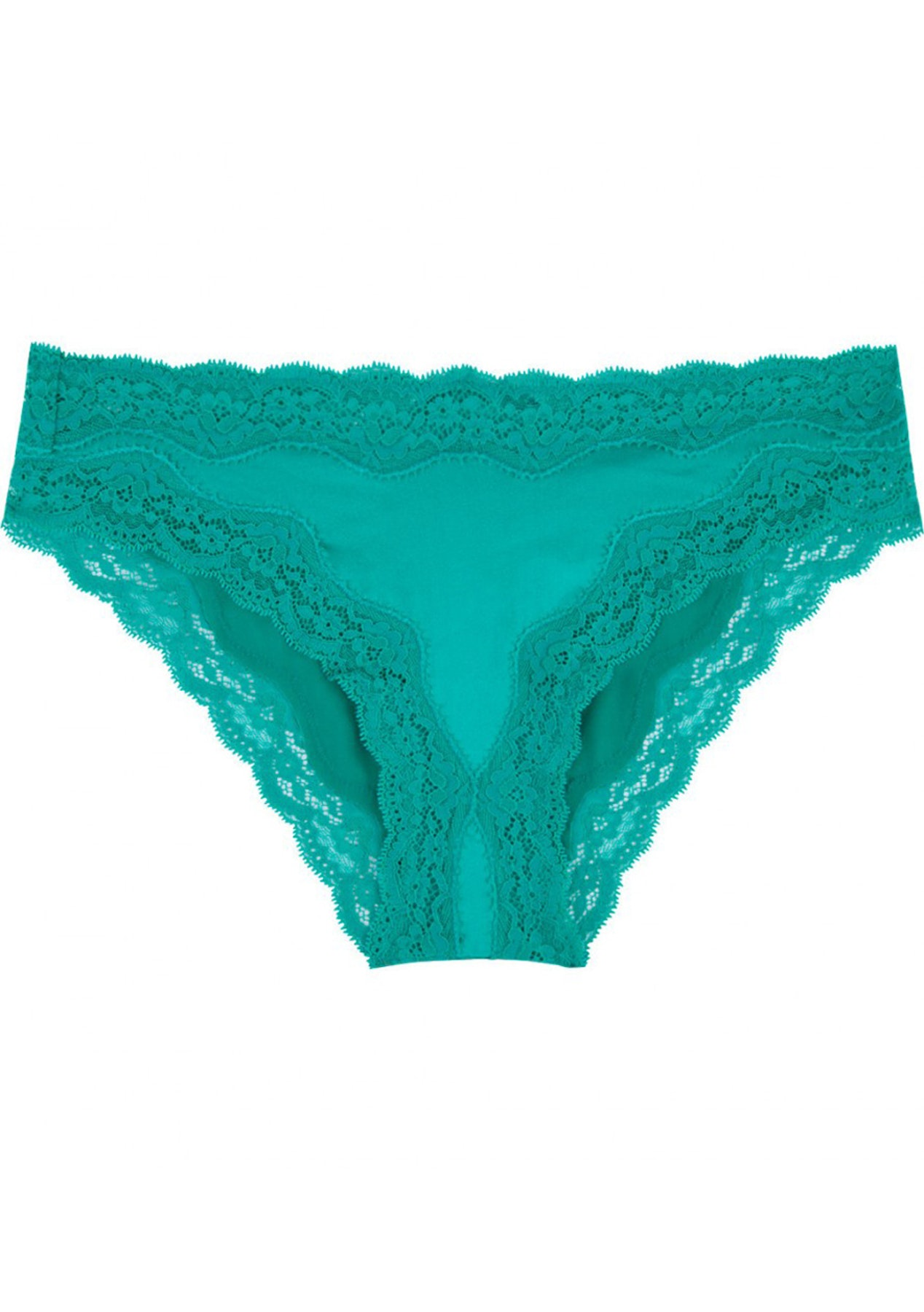 745cac0bb Stella McCartney Lingerie - Clara Whispering Bikini Brief - Dynasty Green -  Under  40 Underwear - Onceit