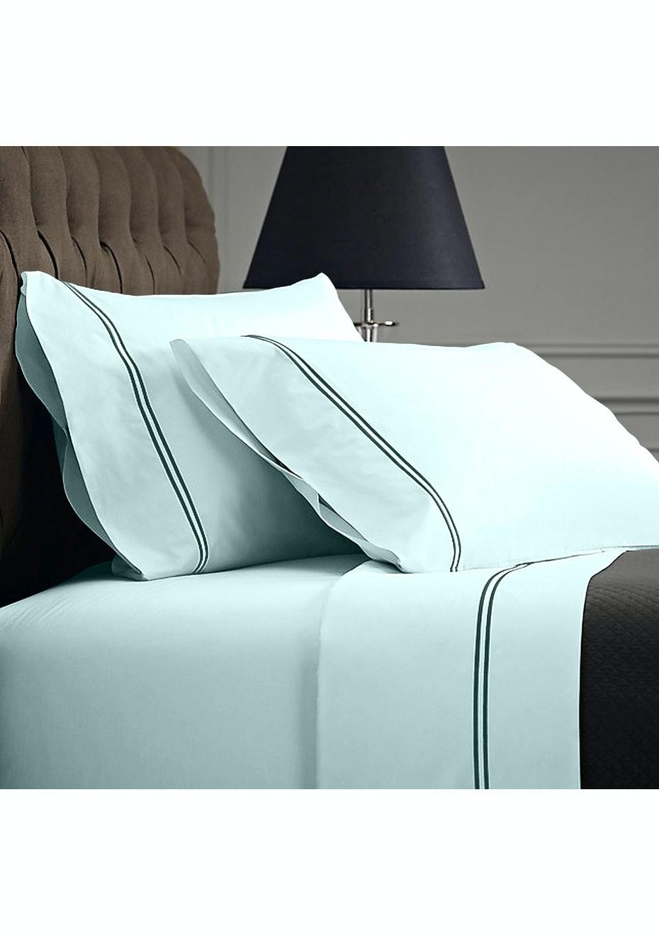 Style & Co 1000 Thread count Egyptian Cotton Hotel Collection Sorrento Sheet sets Mega Queen Duck Egg