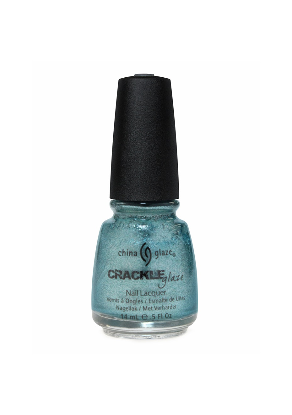 China Glaze Crackle Metals Collection #1047 OXIDISED AQUA