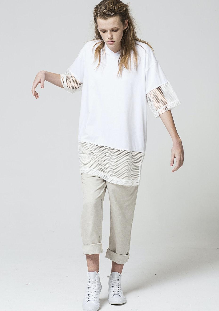 Salasai Symmetry Tee - White