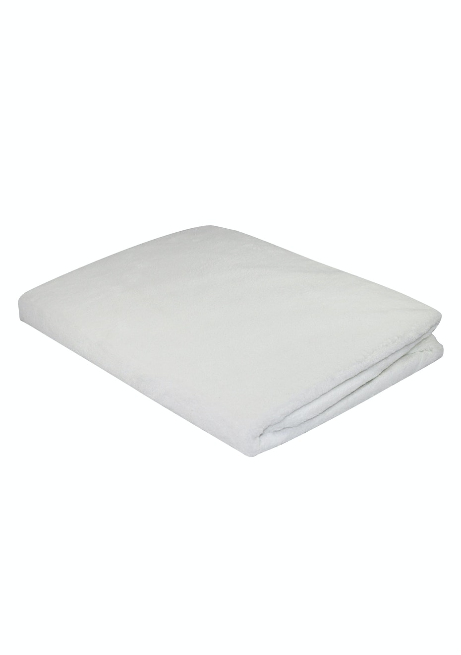 Fibresmart Plush Waterproof Mattress Protector - DOUBLE BED - Fully Fitted