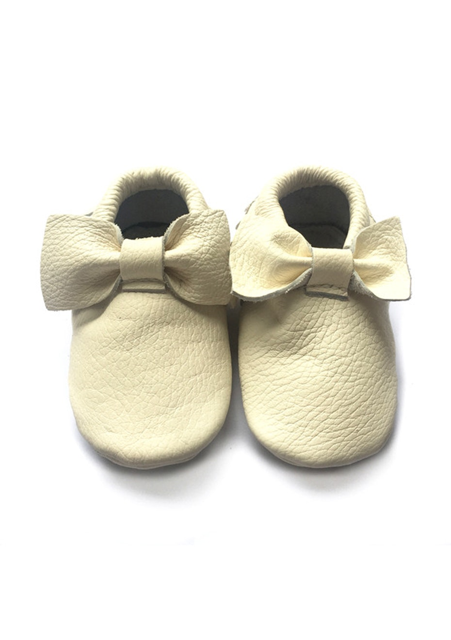 Baby  Leather Shoes - Cream