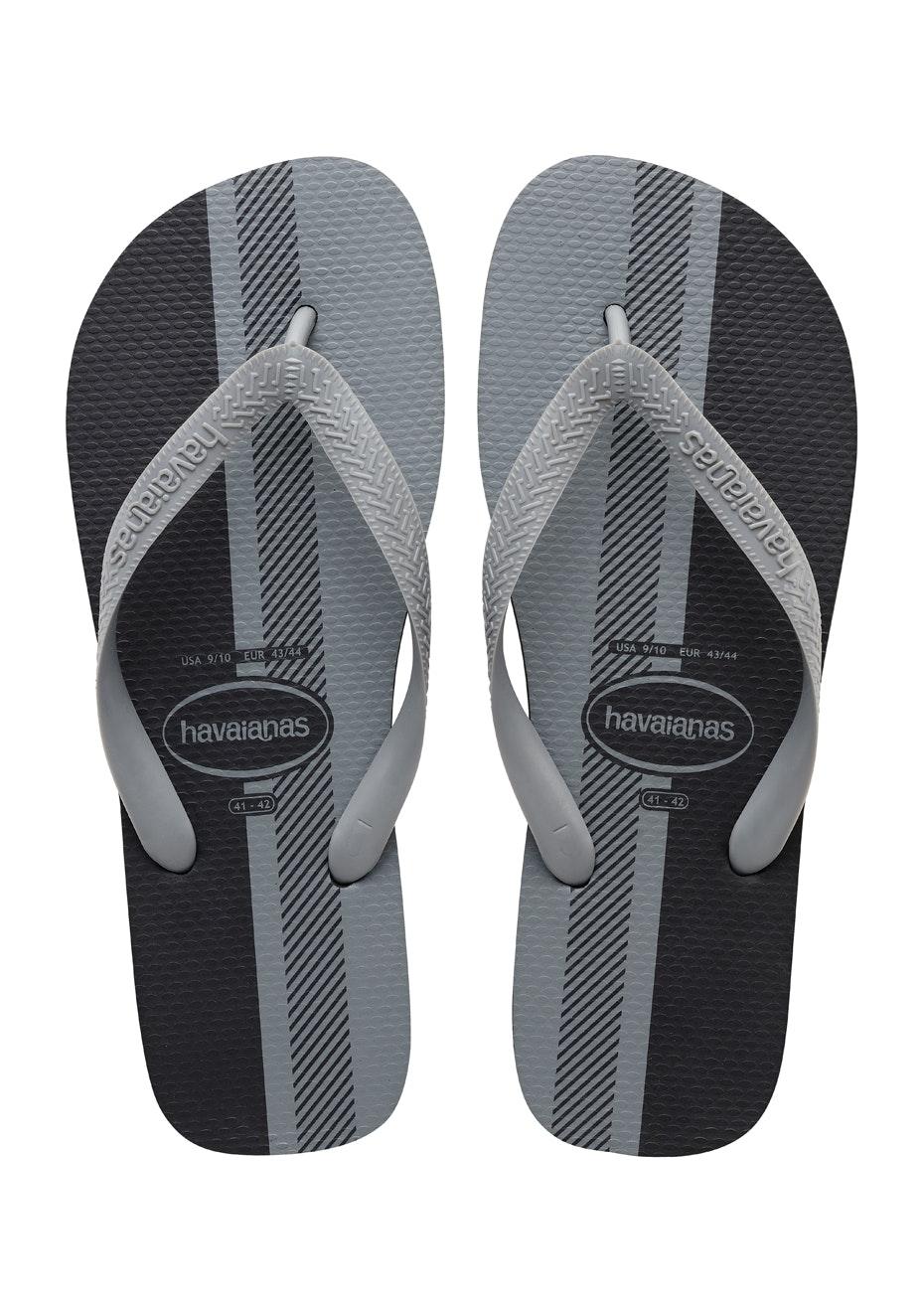 Havaianas Mens - Top Conceitos 6789 - Black/Ice Grey