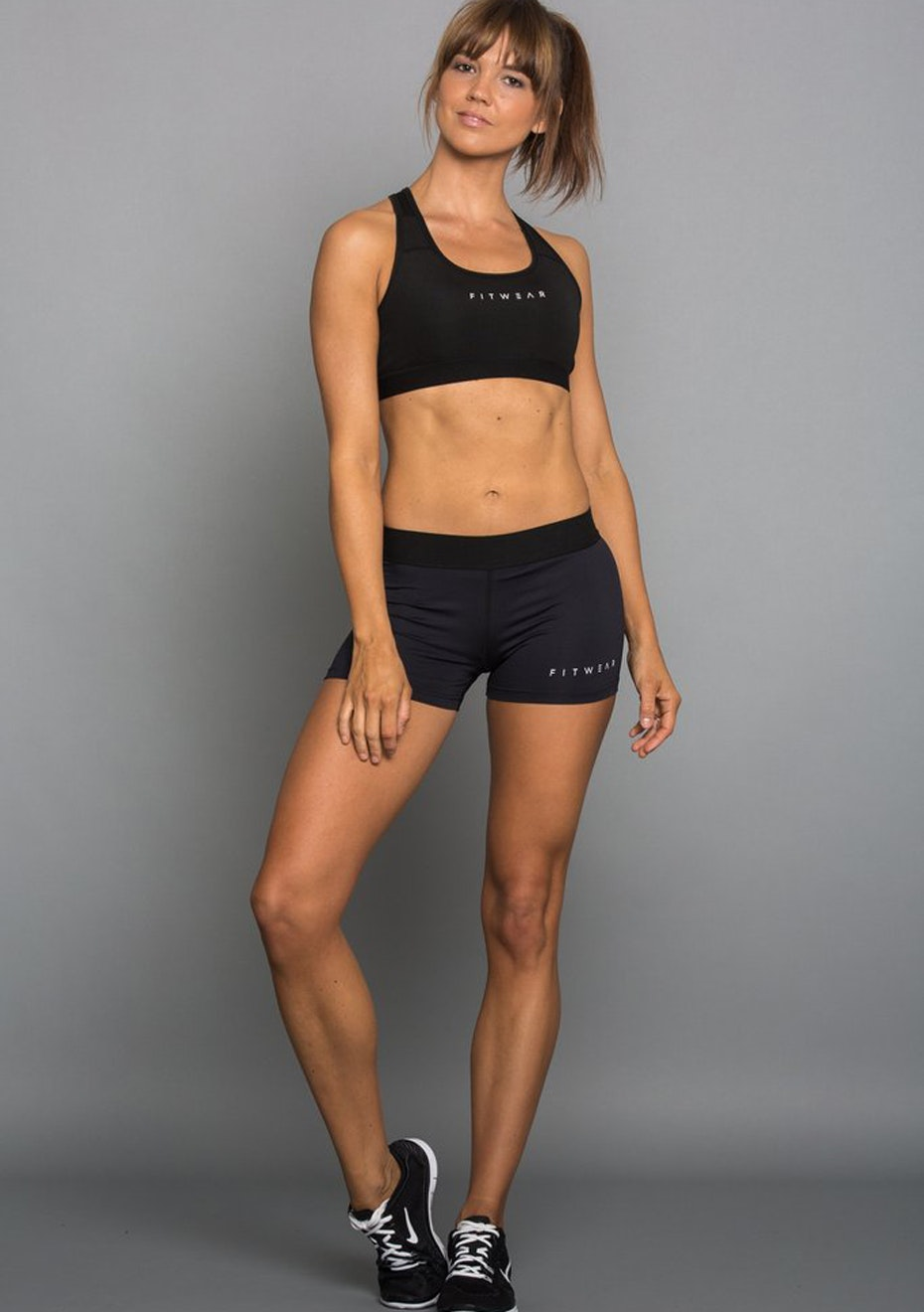 Fitwear - Womens -  Active Shorts - Black