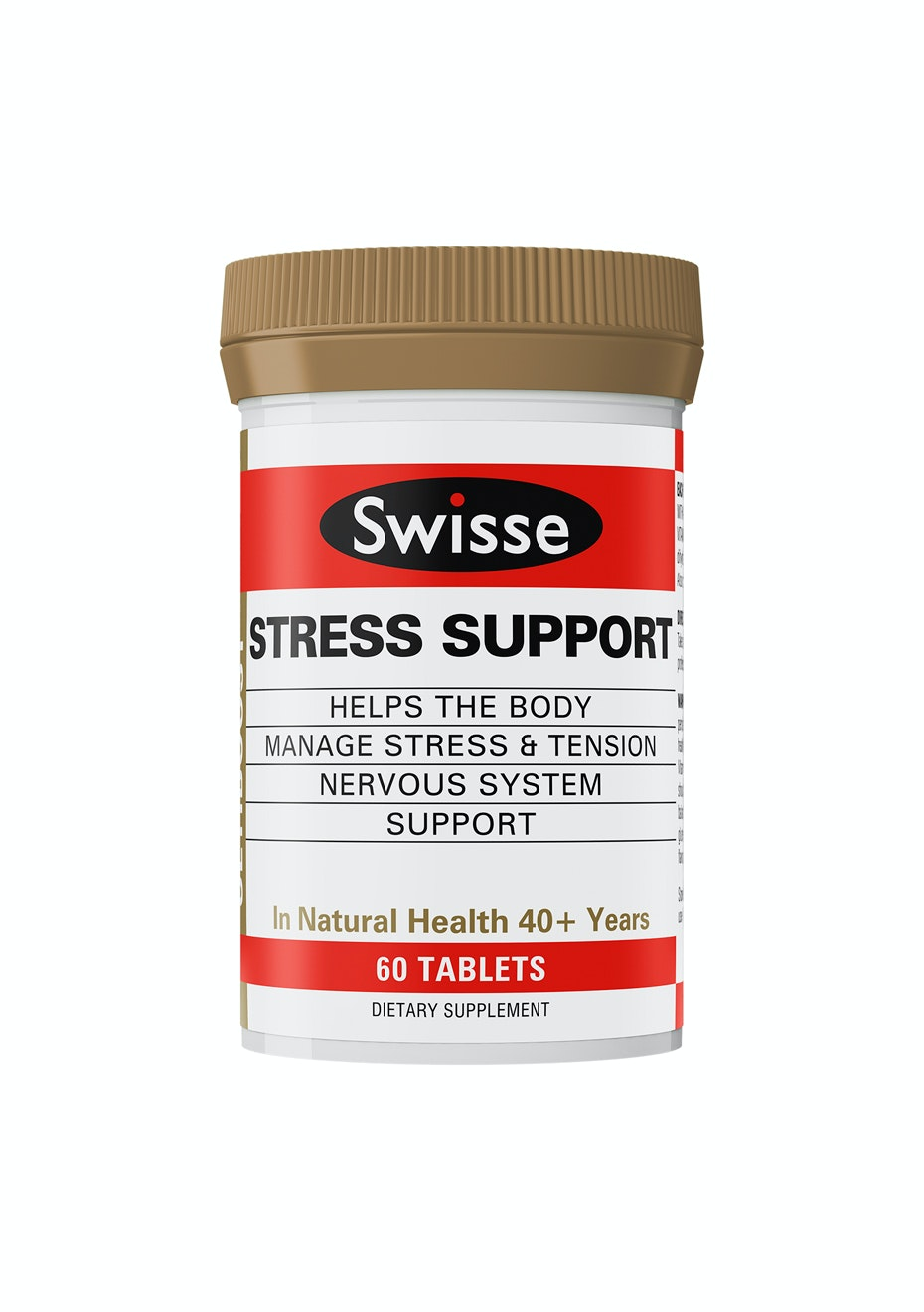 Swisse Ultiboost Stress Support 60 Tablets