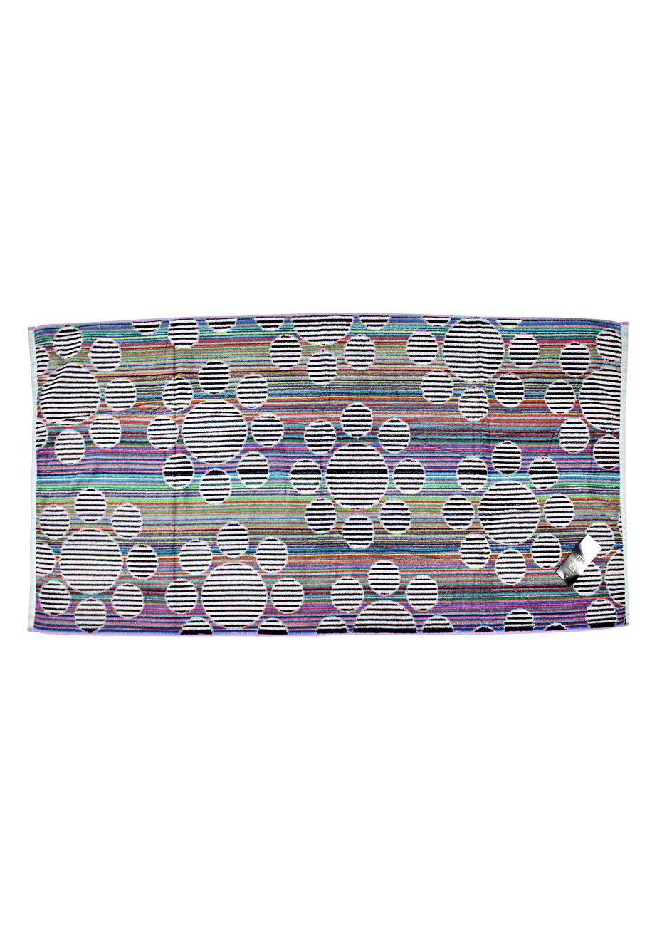 Padma 100% Cotton Velour Jacquard Beach Towel - 75x150cm
