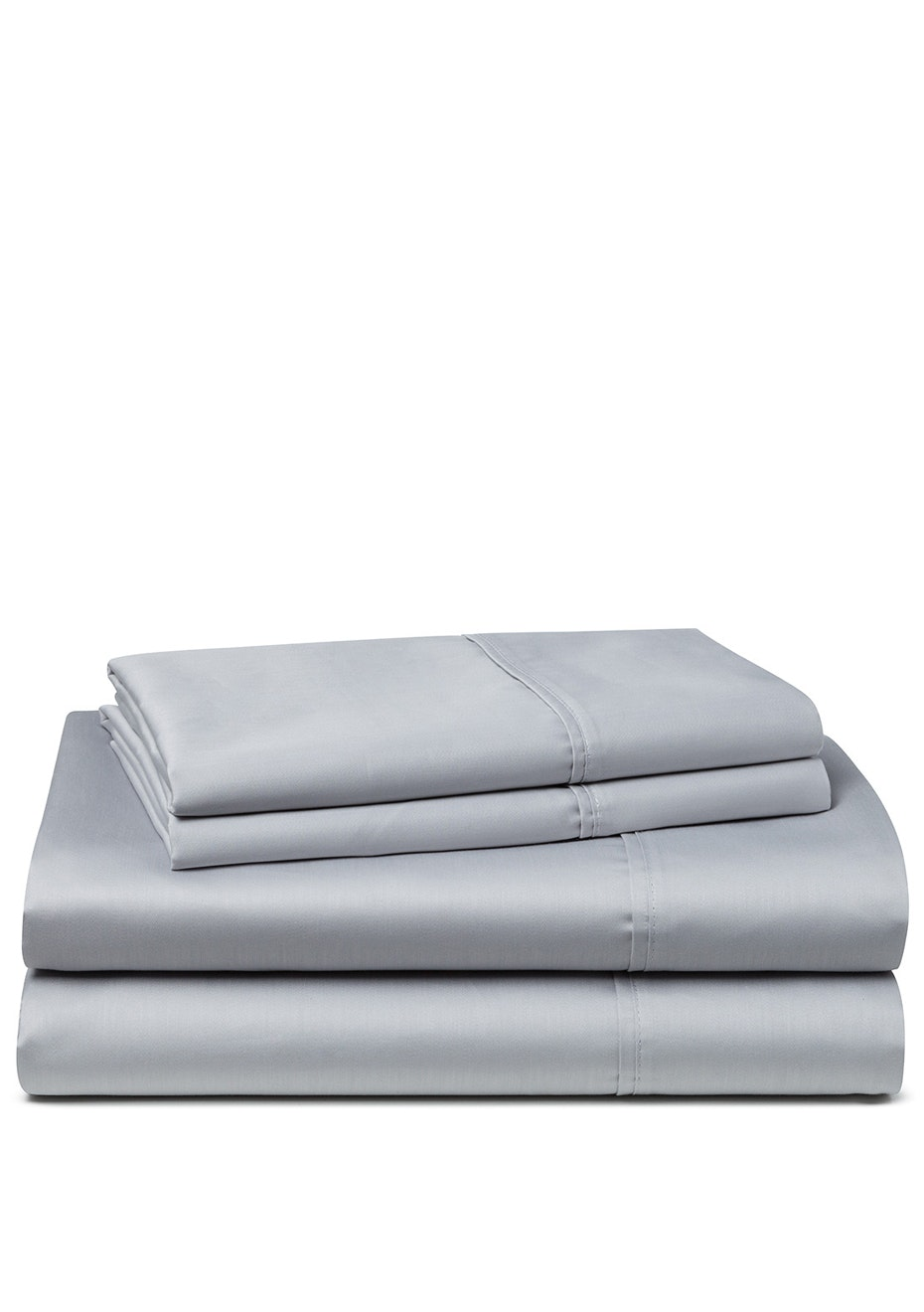 Palazzo Royale 1000 Thread Count Premium Blend Sheet Set King Bed Silver Silk