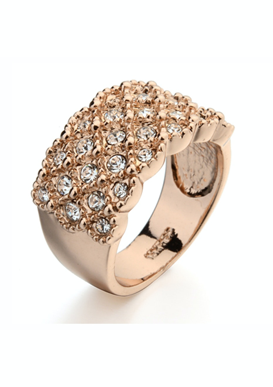 Chateau Ring Embellished with Crystals from Swarovski