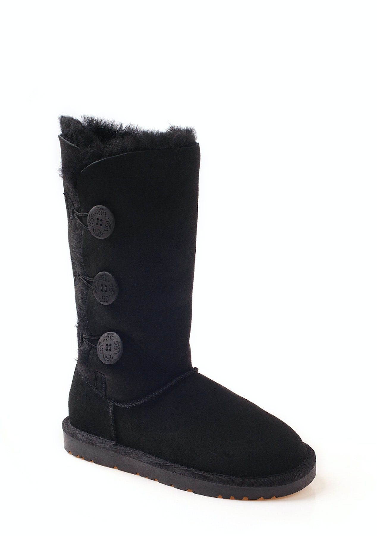 570cf1a0caa Ozwear - Ugg Classic 3 Button Boots (Water Resistant) - Black