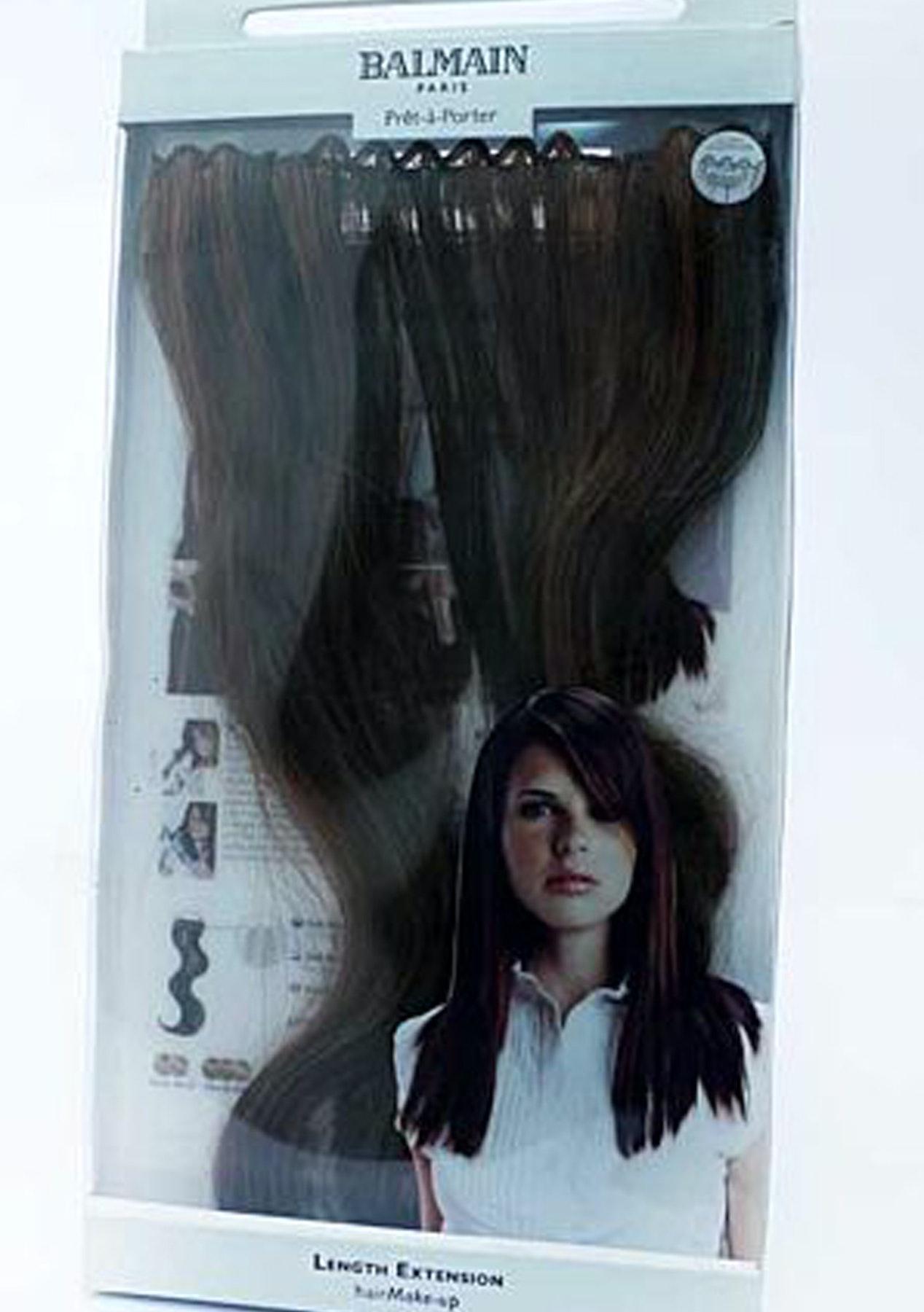 Balmain Hair Extension 3pc Walnut 40cm Redken More Restock Onceit