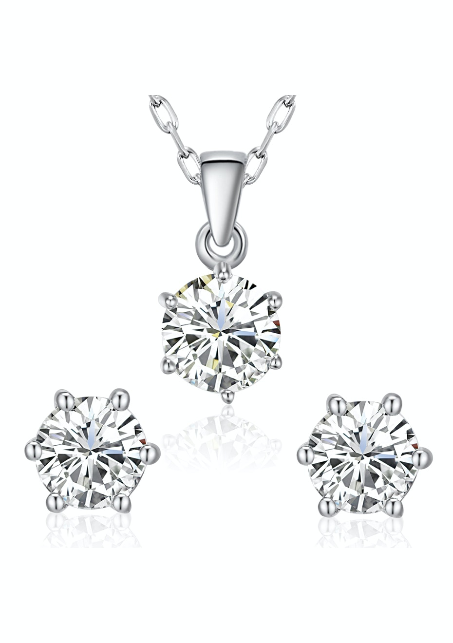 Buckingham Matching Set Embellished with Crystals from Swarovski
